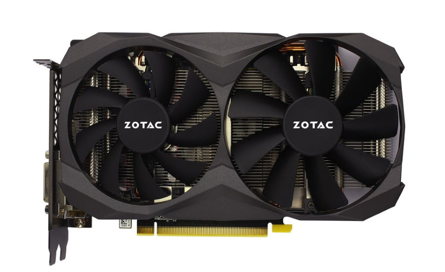 Zotac GTX 1060 6 GB G5X Destroyer