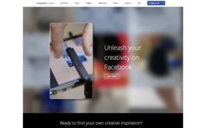Facebook lança novo website com ferramentas criativas para anúncios