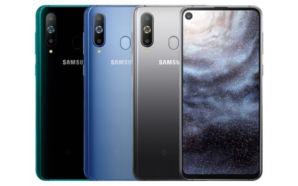 Samsung Galaxy A8s apresentado oficialmente
