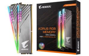 Gigabyte anuncia novo kit de memória DDR4 Aorus RGB de…