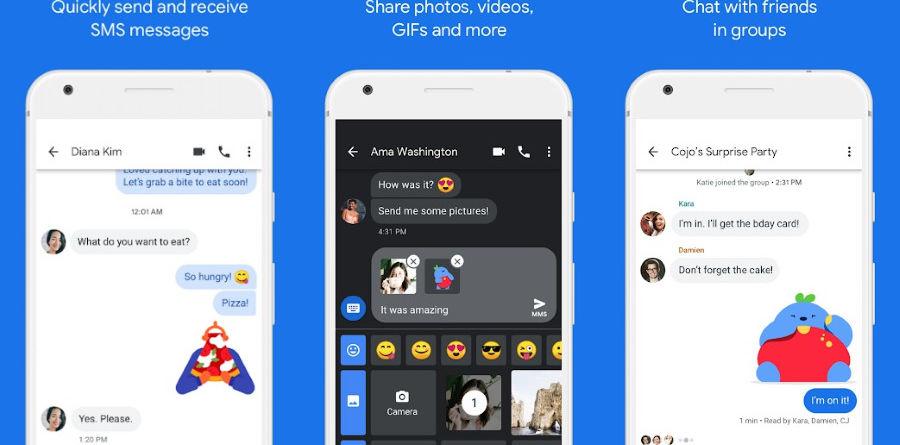 Google Mensagens Android