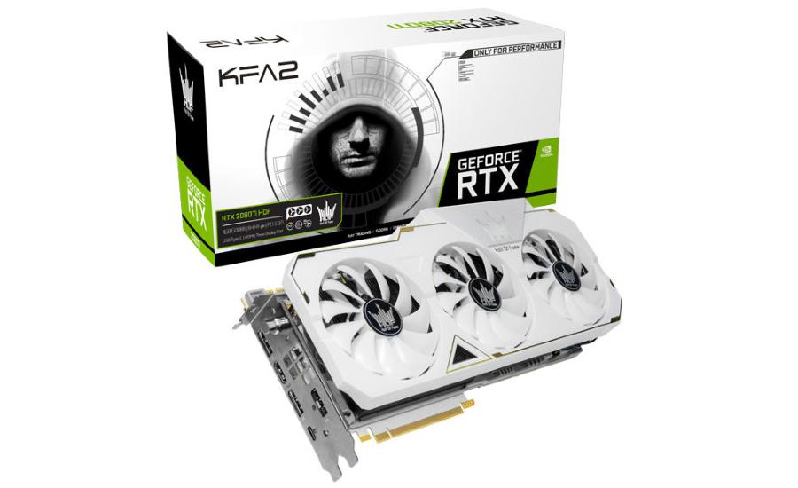 KFA2 GeForce RTX 2080 Ti Hall of Fame