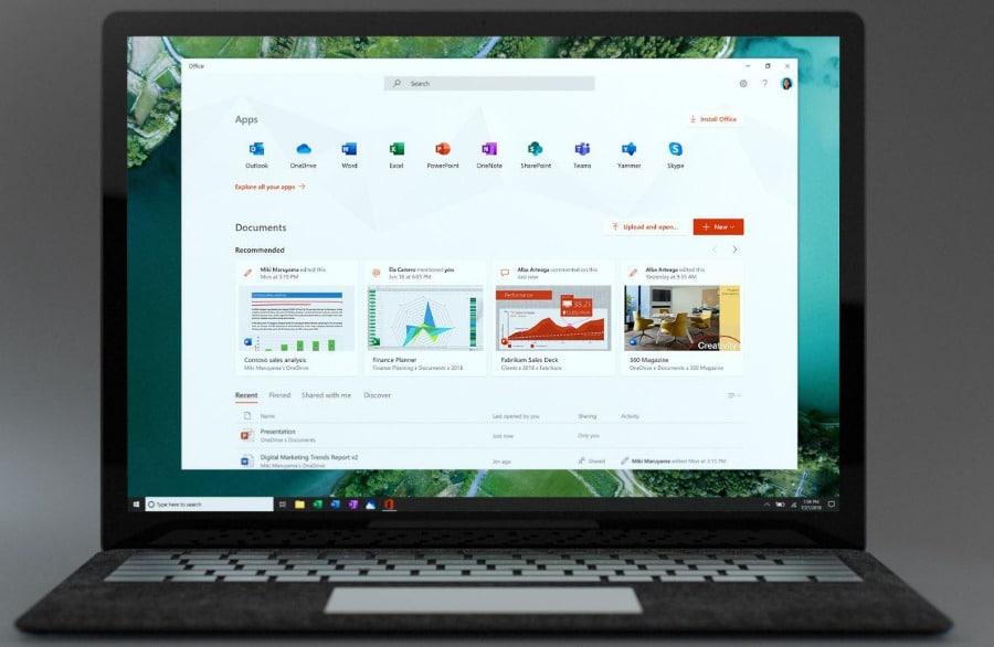 Microsoft app Office