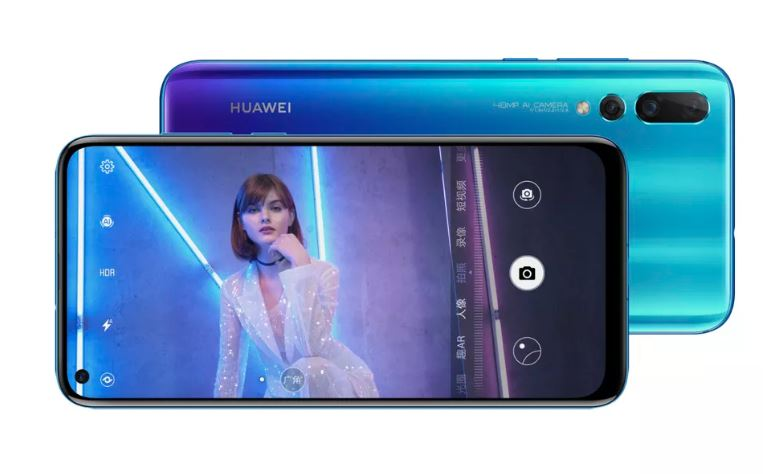 Huawei Nova4 Traseira