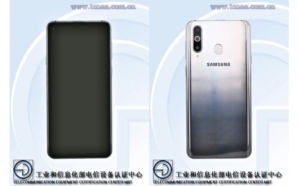 Samsung Galaxy A8s aprovado na China