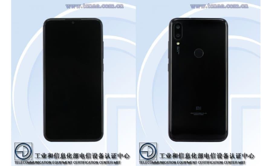 TENAA Xiaomi Redmi 7