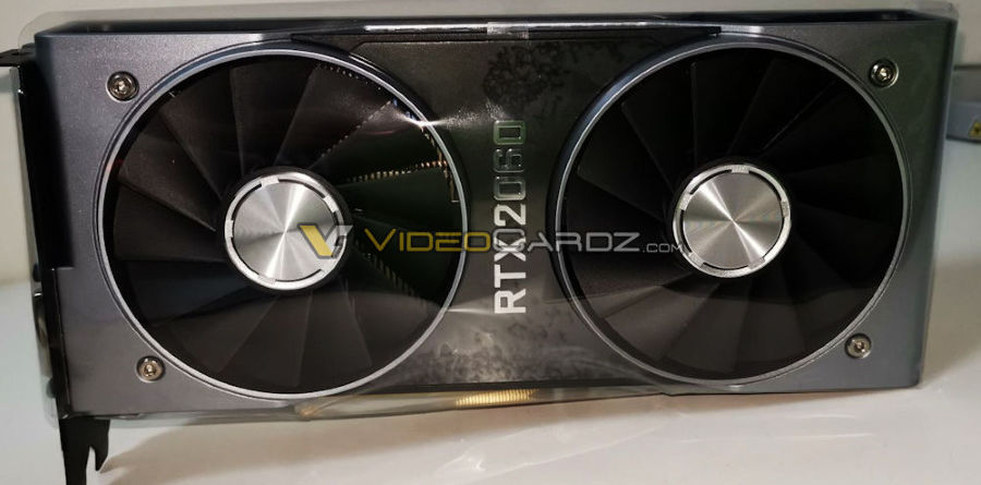Videocardz RTX 2060 Founder Edition