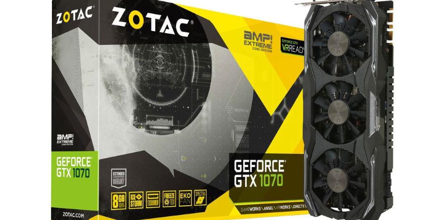 Zotac GTX 1070 AMP Extreme Core