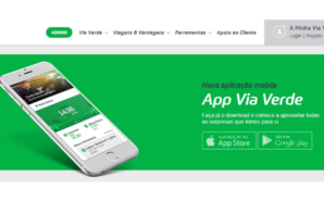 App Via Verde passa a marca do milhão de downloads
