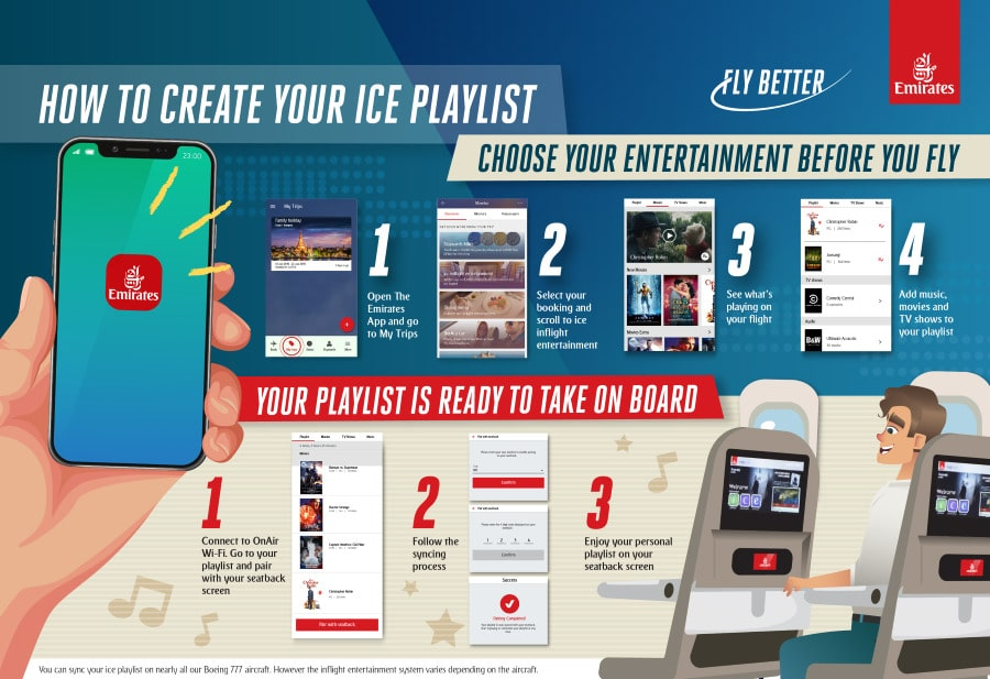 Emirates App Ice
