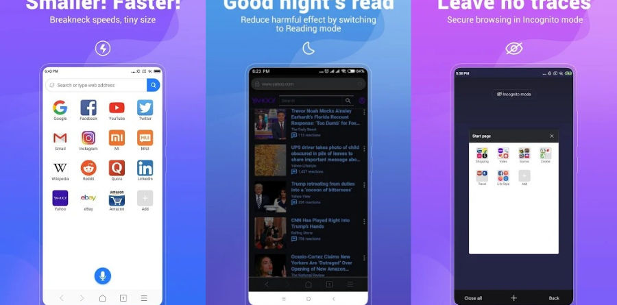 Mint Browser Android