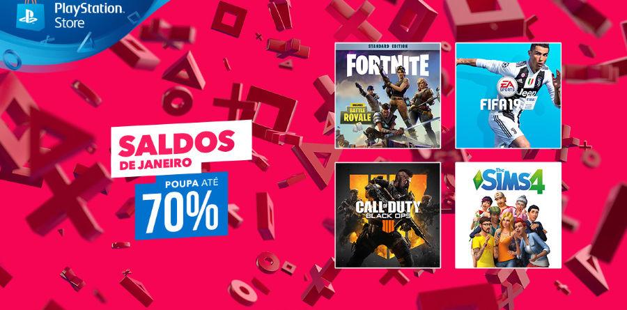 Saldos de Janeiro PlayStation Store