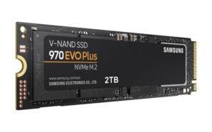 Samsung lança o SSD NVMe 970 EVO Plus