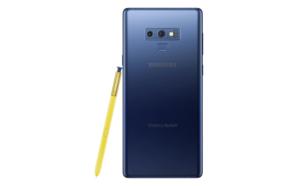 Samsung Galaxy Note 9 actualizado