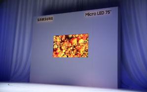 Samsung apresenta novas dimensões, formas e configurações de Micro LED…