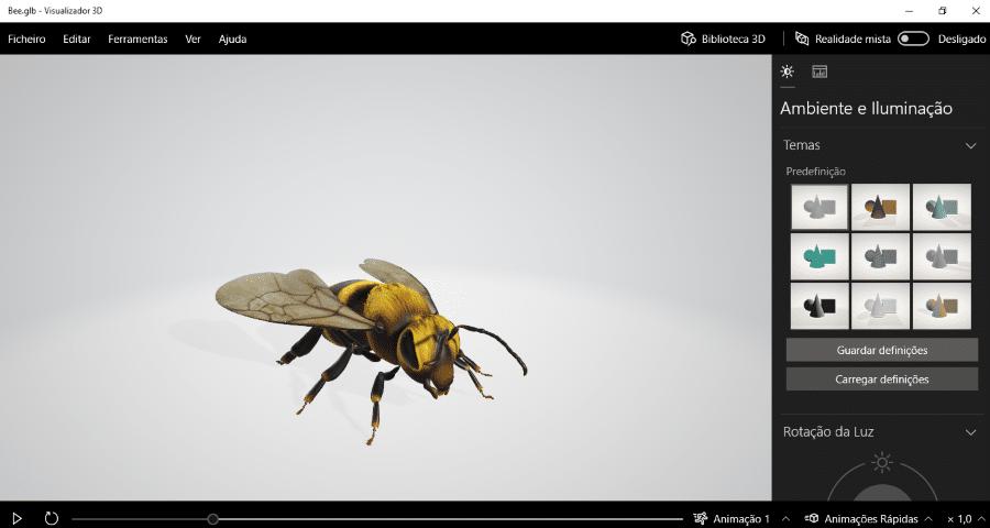 Visualizador 3D
