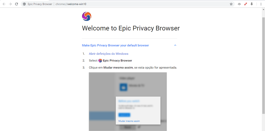Browser Epic