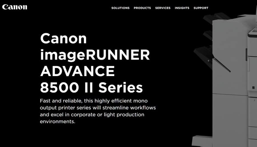Canon imageRUNNER ADVANCE