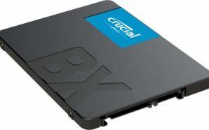 Crucial lança modelo de 960GB do SSD BX500