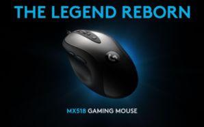 Logitech apresenta versão renovada do rato MX518 (Vídeo)