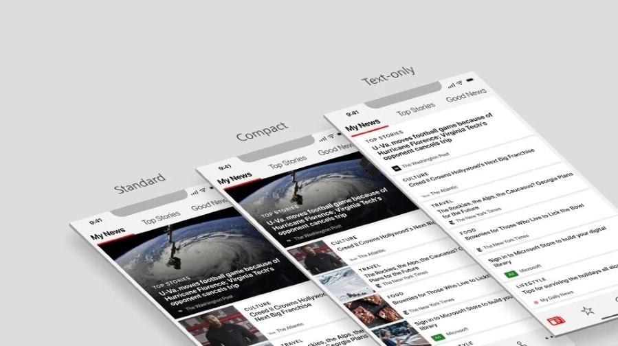 Microsoft Notícias Android