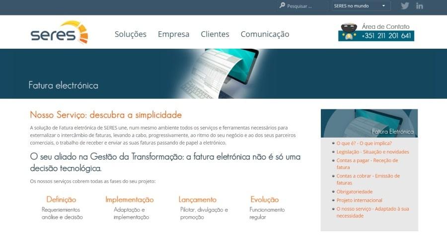 SERES Factura electronica
