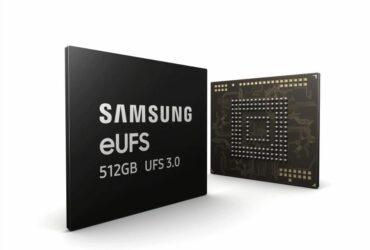 Samsung eUFS 512GB