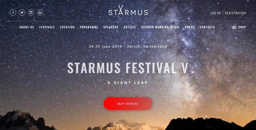 Starmus Festival New