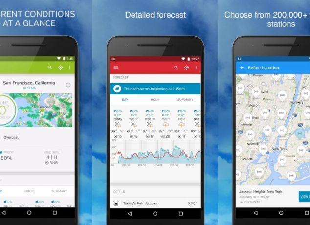 Weather Underground Android