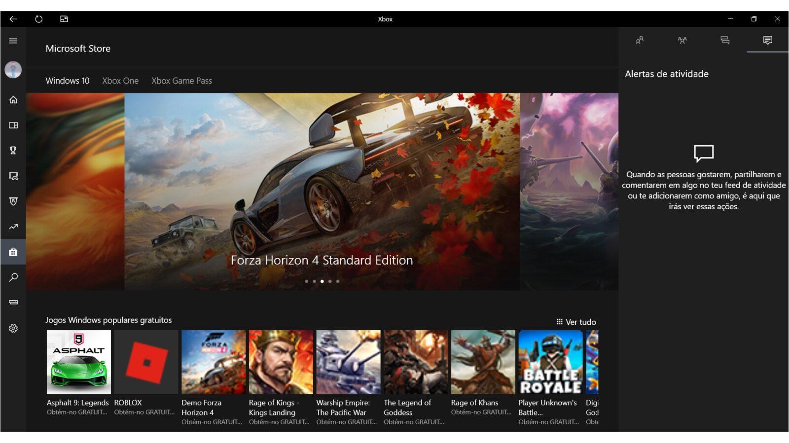 App Xbox Windows 10