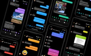 Dark Mode Messenger