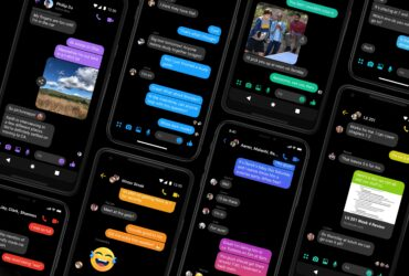 Dark Mode Messenger