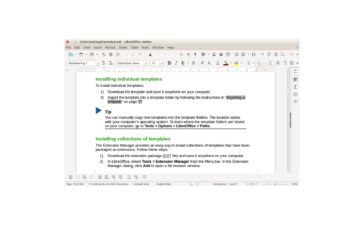 LibreOffice New