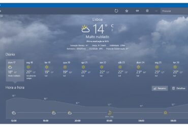 Meteorologia Windows 10