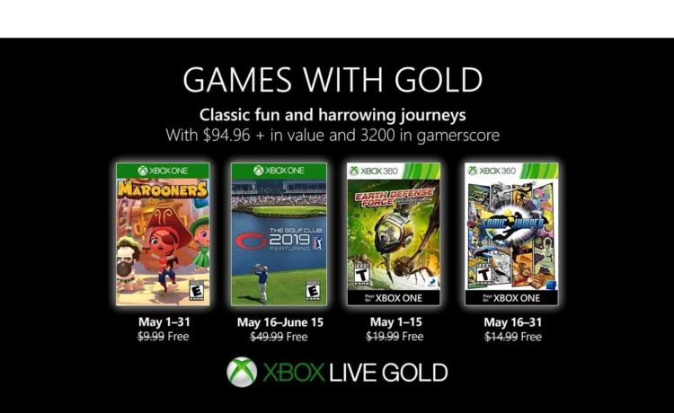 Microsoft Games with Gold