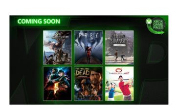 Microsoft Xbox Game Pass April