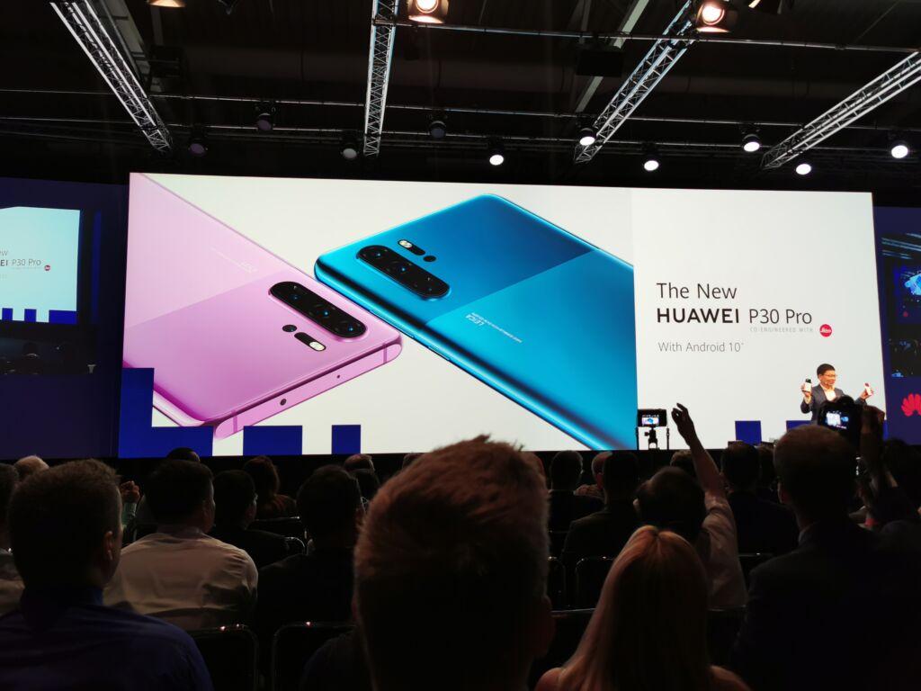 Huawei P30 Novas cores