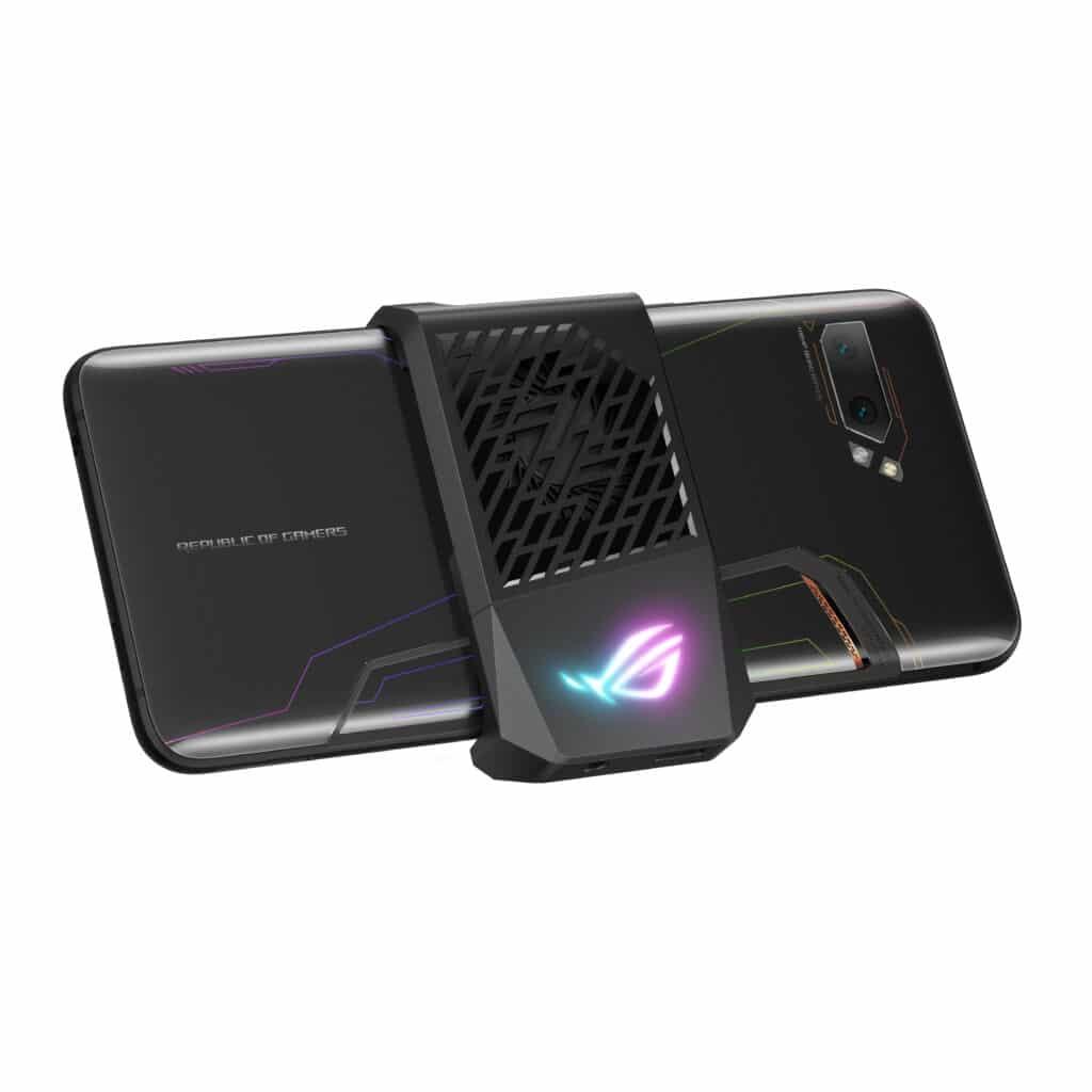 Sistema de refrigeração activa incluído com o ROG Phone II