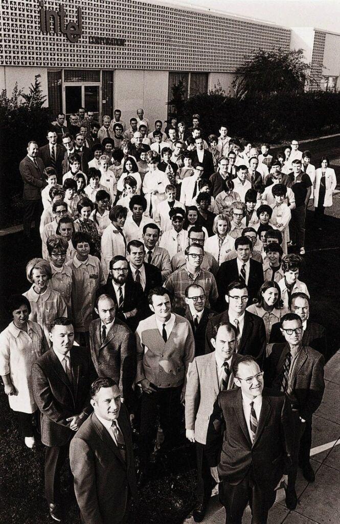 Primeiros empregados Intel