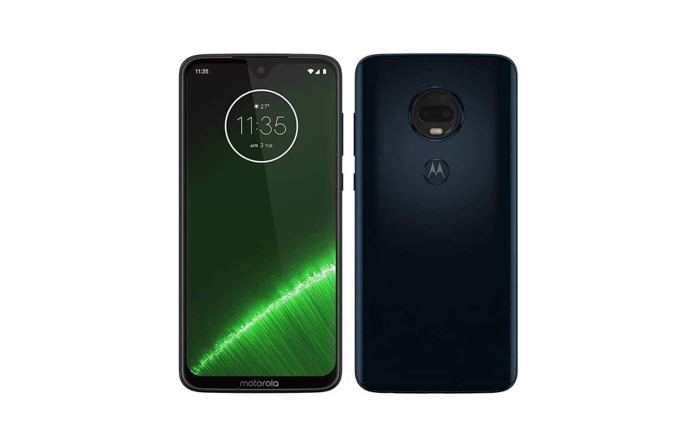 Moto G7 Plus Android 10