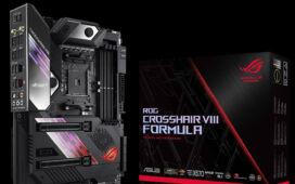 A ROG Crosshair VIII Formula foi um dos produtos vencedores. ©Asus