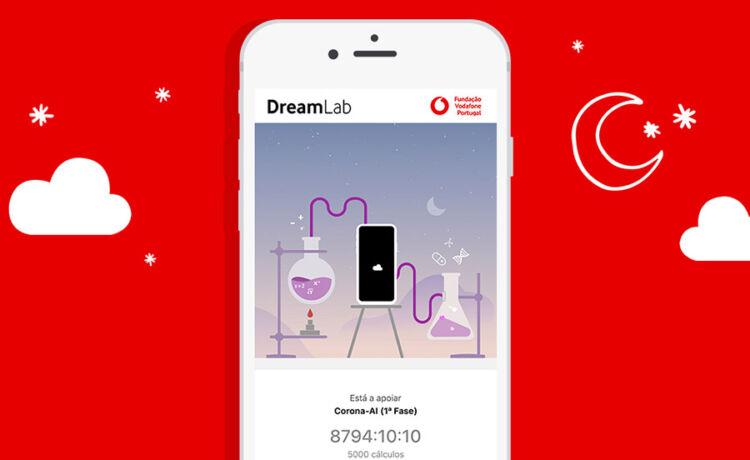 App DreamLab ©Vodafone