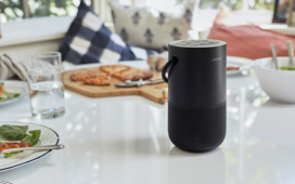 A nova Portable Home Speaker custa quase 370 euros. ©Bose