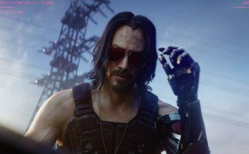 Keanu Reeves é o protagonista de Cyberpunk 2077. ©Microsoft