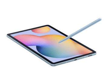 O Galaxy Tab S6 Lite vem com uma S Pen renovada. ©Samsung
