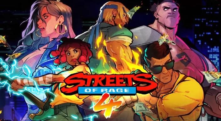 Streets of Rage 4 ©Sega