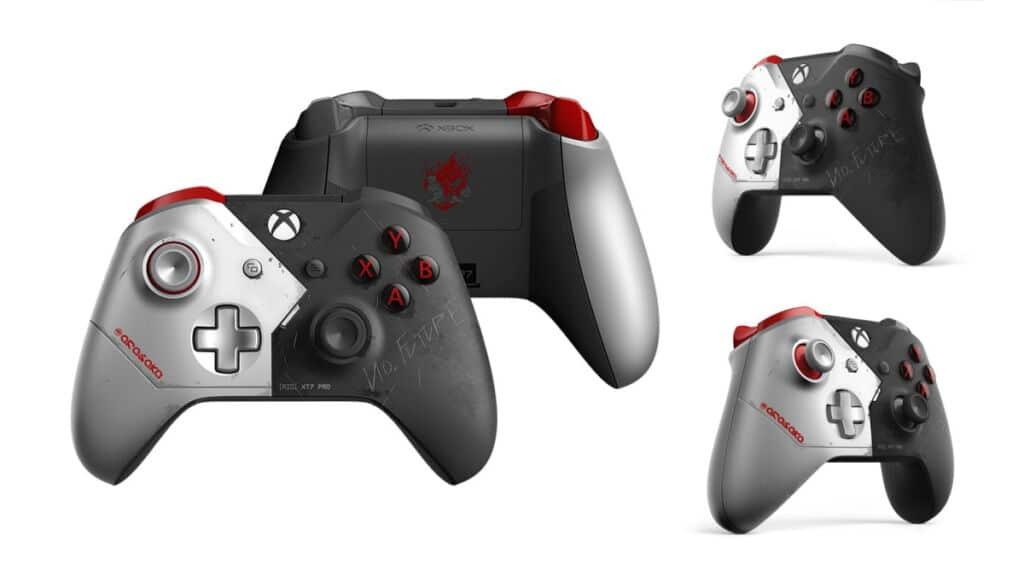 Xbox Comando Cyberpunk 2077 ©Microsoft