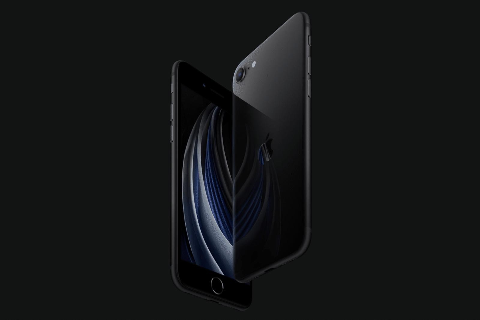 O iPhone SE chega a 24 de Abril e começa nos 599 euros. ©Apple