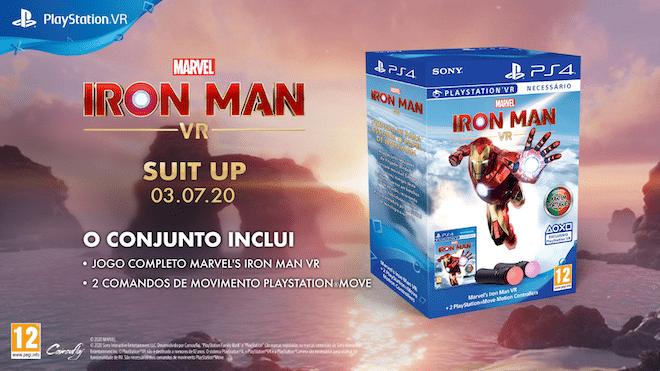 Iron Man VR Bundle ©Sony