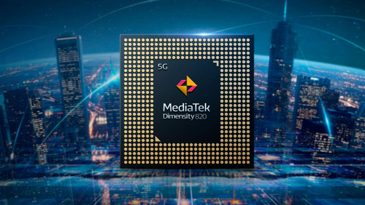 MediaTek Dimensity 820 smartphones Android